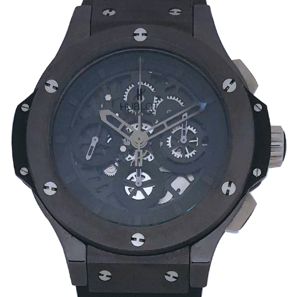 HUBLOT BIG BANG AEROBANG ALLBLACK LIMITED EDITION 500 PIECES
