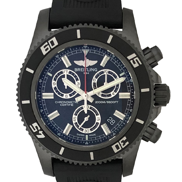 BREITLING SUPER OCEAN CHRONOGRAPH BLACK STEELE