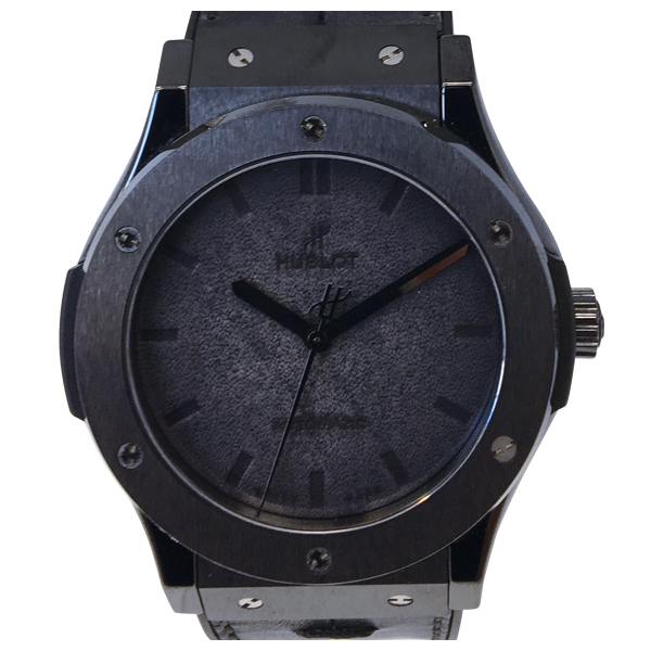 HUBLOT CLASSIC FUSION BERLUTI ALL BLACK
