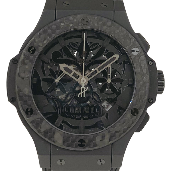 HUBLOT Big Bang Aero Bang Suger Skull Ceramic Carbon